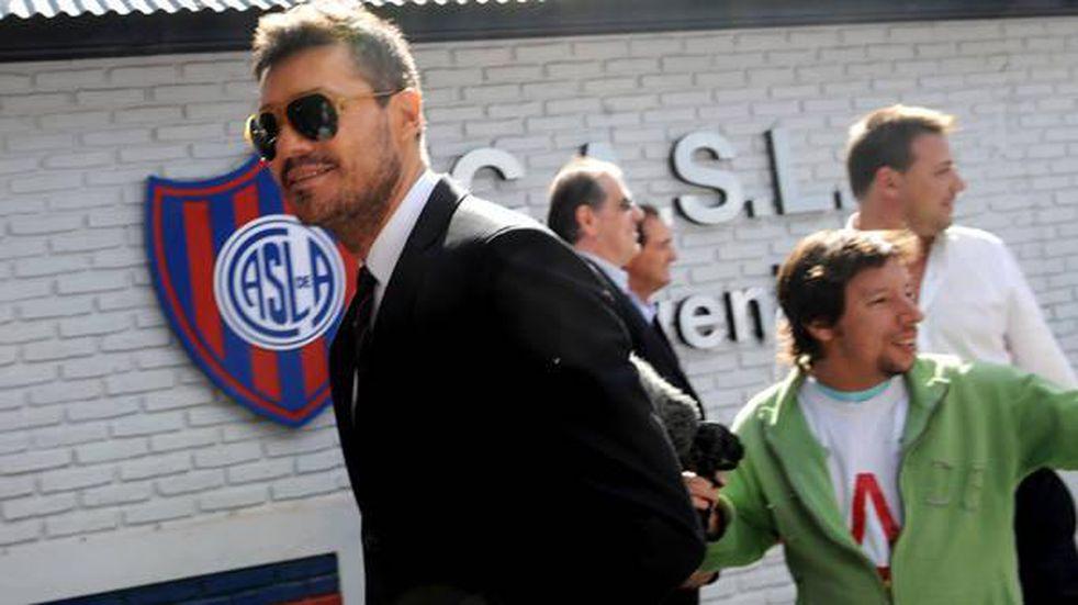 """Marcelo Tinelli fue amenazado por hinchas de San Lorenzo: """"Cuánta locura y agresión"""""""