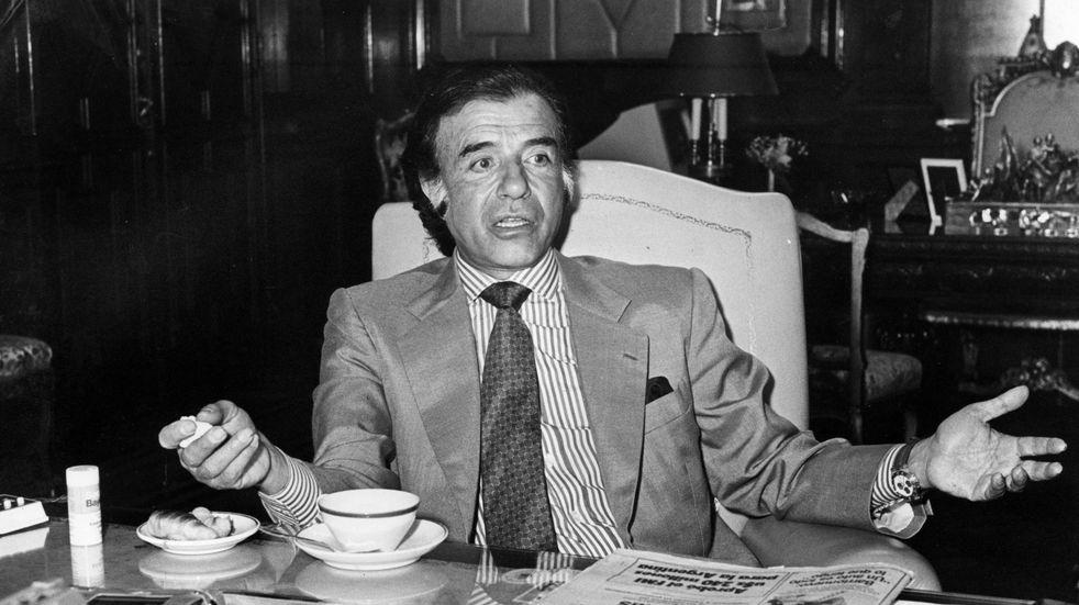 Tres hitos relevantes que marcaron la vida política y personal de Carlos Menem