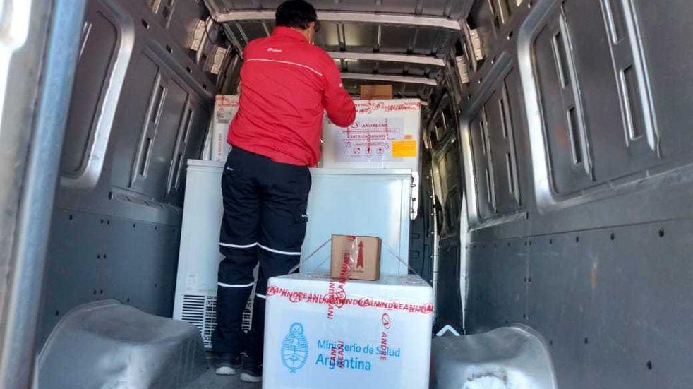 COVID-19: llegaron a Chaco 27.500 nuevas vacunas