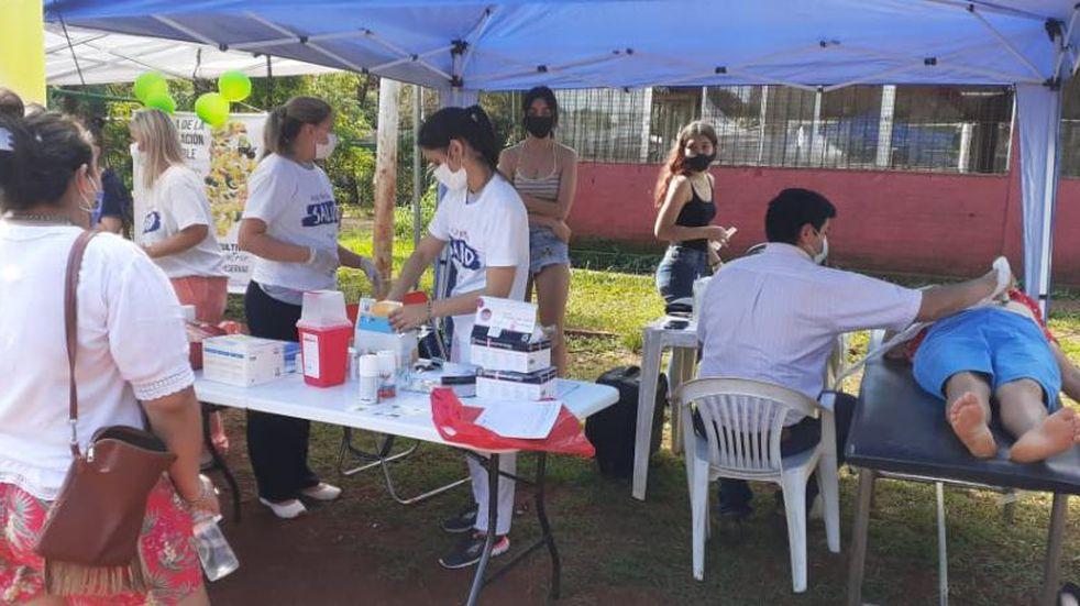 Realizaron operativos de Salud Pública en barrios de Eldorado.