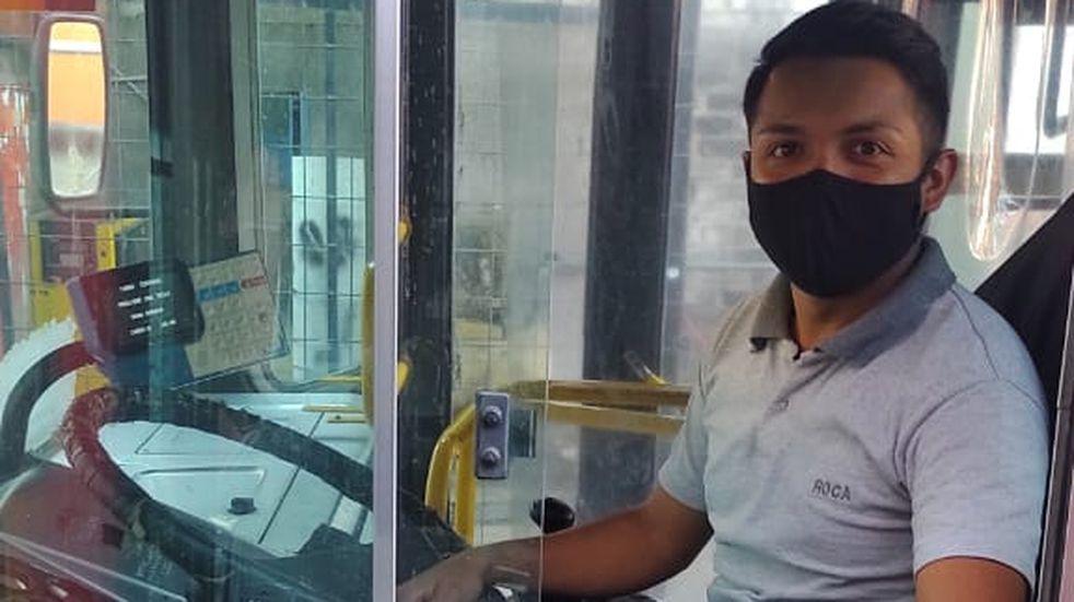 Juan Manuel Maza y sus desafíos de ser chofer de colectivo en pandemia