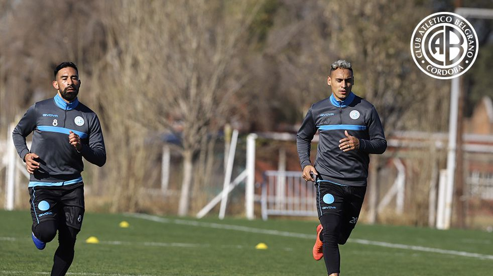 Con Rojas y Bordagaray, Belgrano se entrenó pensando en Mitre
