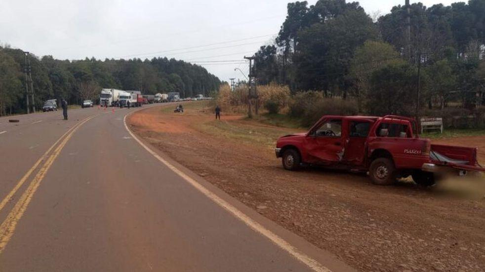 Siniestro vial dejó como saldo un hombre fallecido en Garuhapé