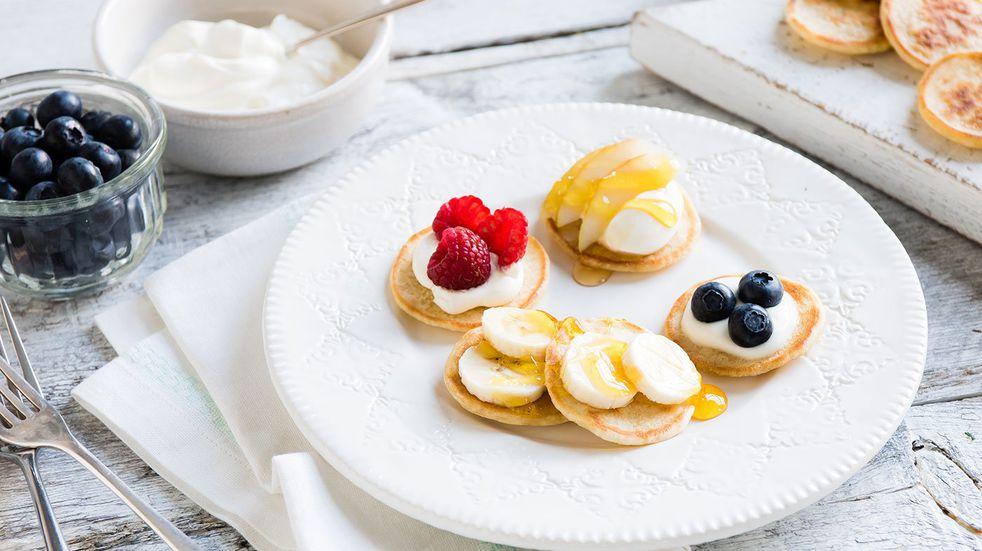 Listos en 10 minutos: Mini Pancakes para un desayuno distinto