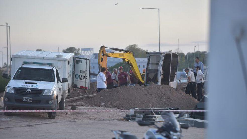 Obrero muerto en la Legislatura: compañeros y Uocra responsabilizan a empresa constructora