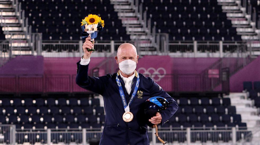 Tiene 62 años y ganó dos medallas en los Juegos Olímpicos de Tokio 2020