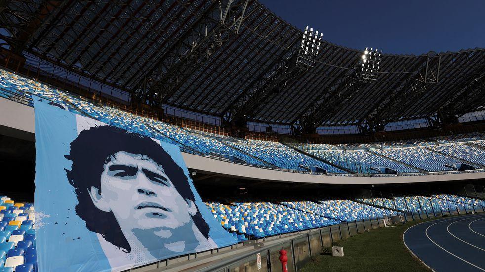Argentina e Italia podrían jugar en Nápoles como homenaje a Maradona