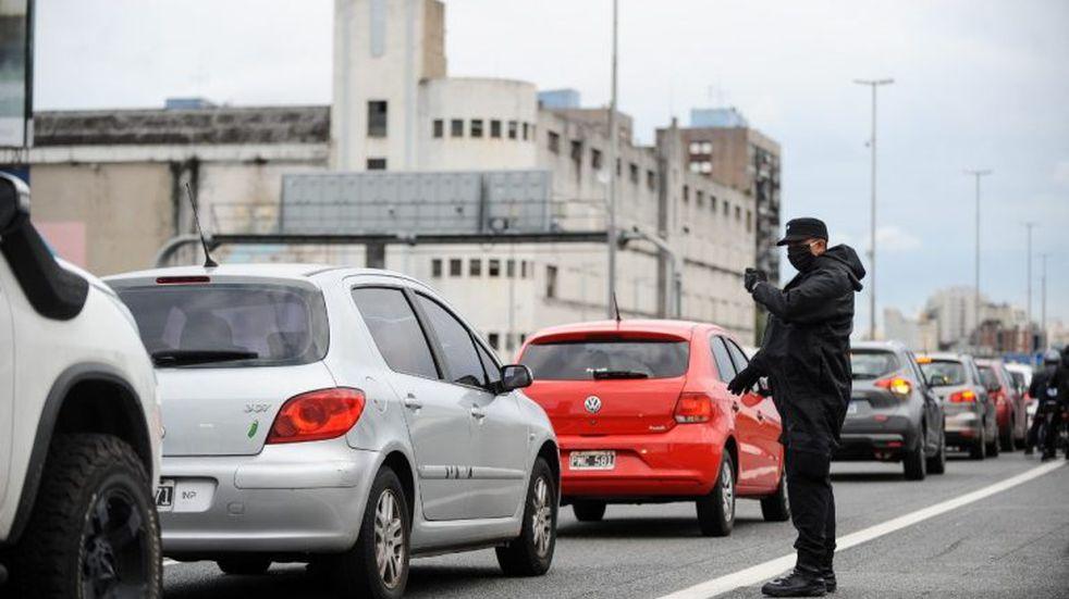 Continúa en aumento la circulación vehicular en los accesos a la Ciudad de Buenos Aires