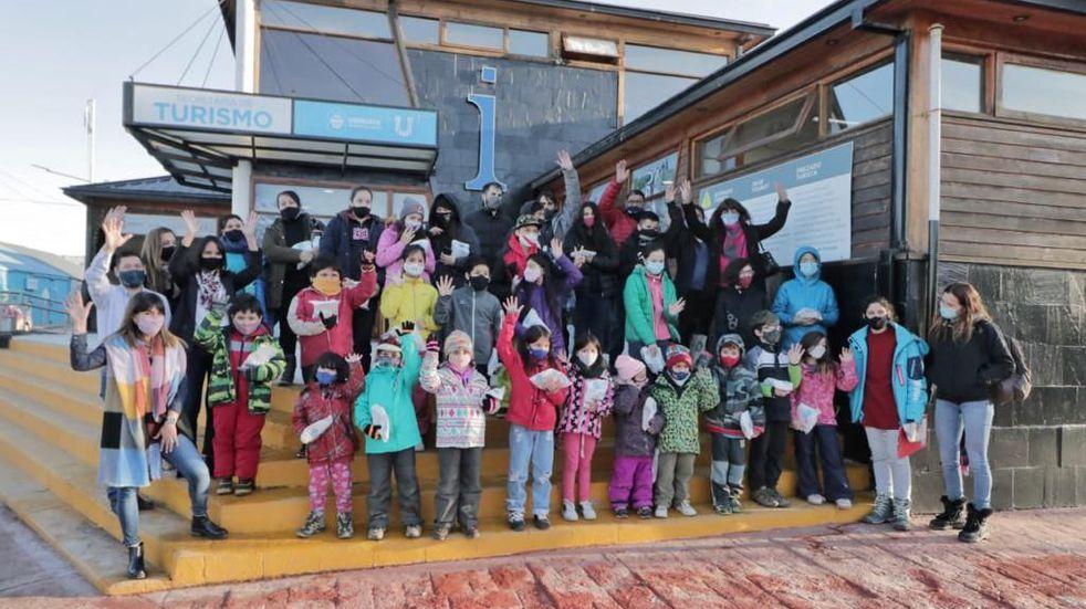 Ushuaia: Continua en marcha el programa de turismo social del Municipio