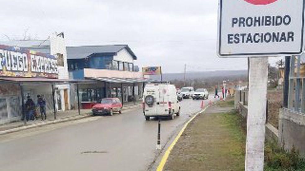 Rige nuevo sistema de estacionamiento en calle Pedro Oliva entre Gendarmería Nacional y Rafaela Ishton