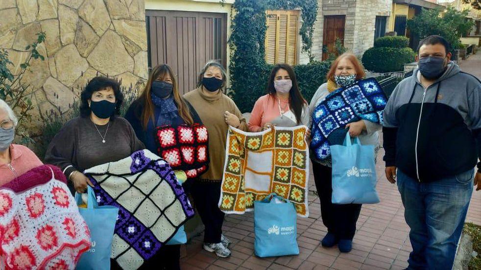 Corazón de Lana Solidario: el grupo de vecinas maipucinas que se unieron para ayudar