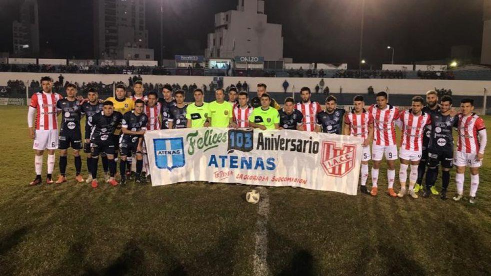 Instituto perdió 2-1 ante Atenas, en Río Cuarto