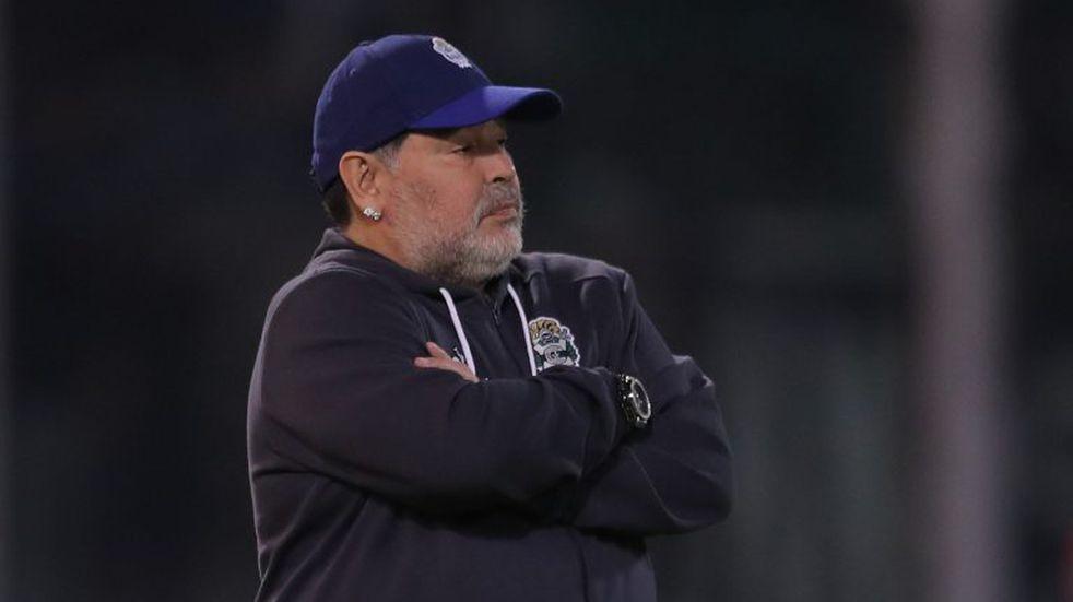 Los últimos días de Diego Maradona