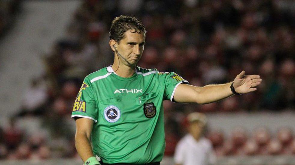 Nicolás Lamolina es el árbitro designado para Talleres - Atlético Tucumán
