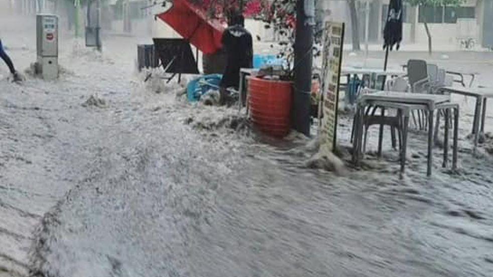Impresionantes imágenes del temporal en Catamarca