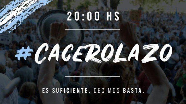 Convocan a un cacerolazo contra el Gobierno tras el discurso de Alberto Fernández en el Congreso.