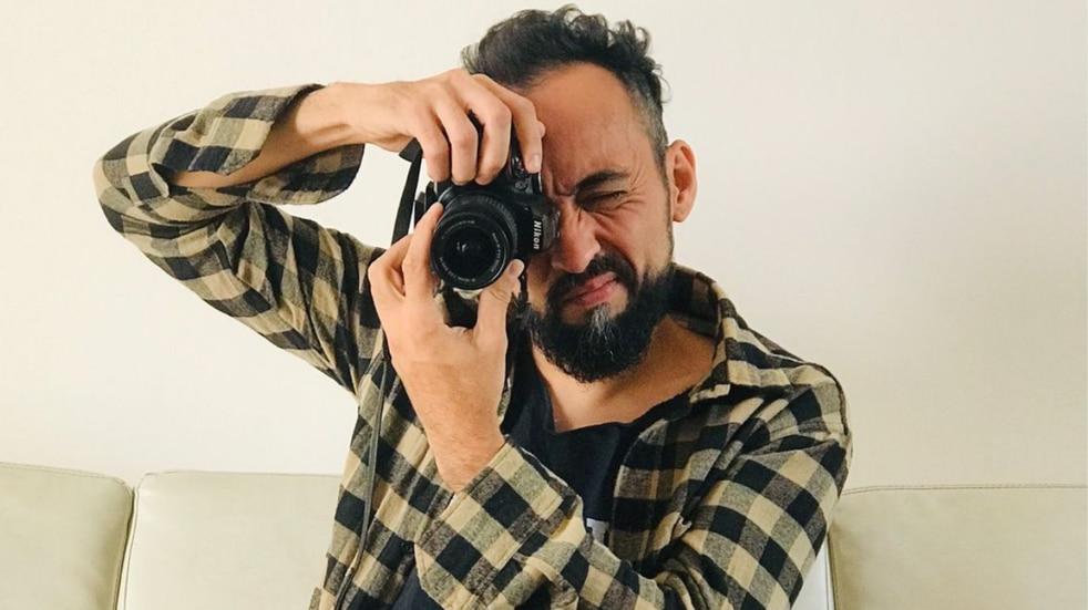 Fotógrafo lasherino Hugo Orozco.