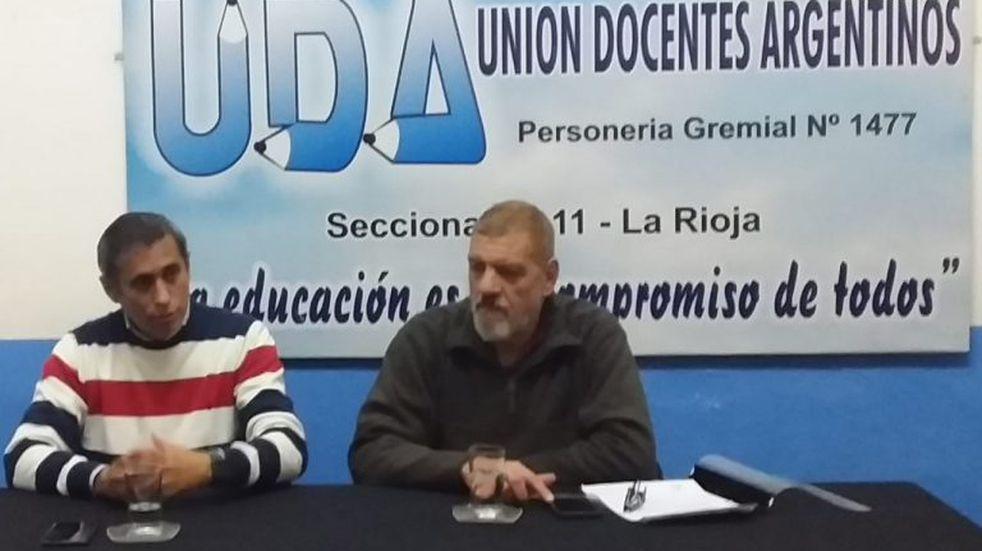 Paredes Urquiza se reunió con el gremio UDA