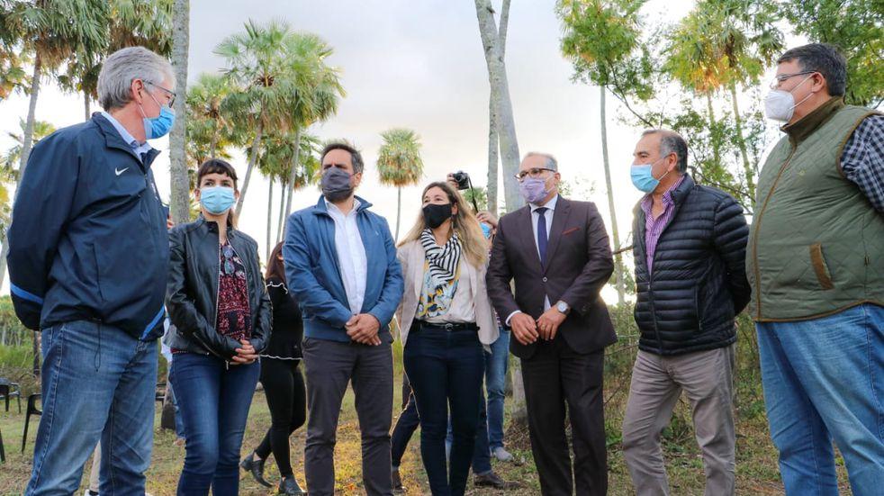 Rodas celebró la visita de Cabandié y destacó el avance de la provincia en materia ambiental