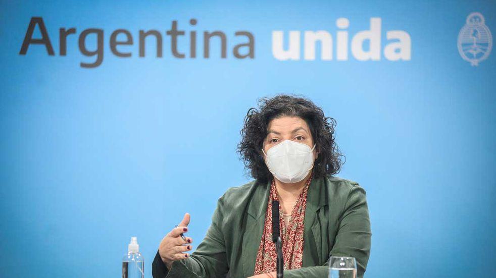 """COVID: Carla Vizzotti admitió que """"los casos no van a bajar"""" y pidió enfocarse en frenar el aumento"""