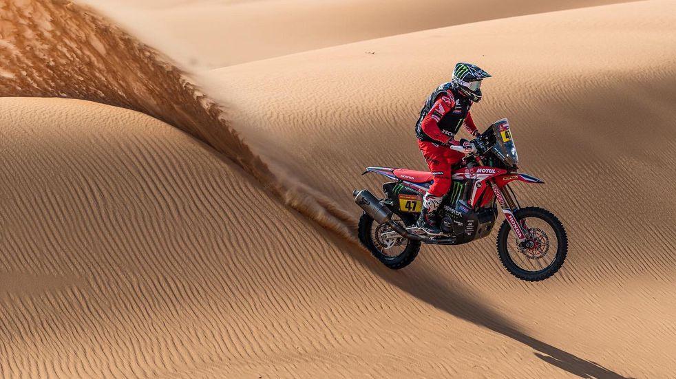 Las mejores imágenes de Kevin Benavides en el Dakar 2021