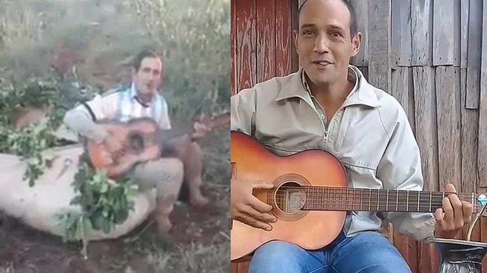 Talento misionero: Jairo Camacho, el tarefero cantor