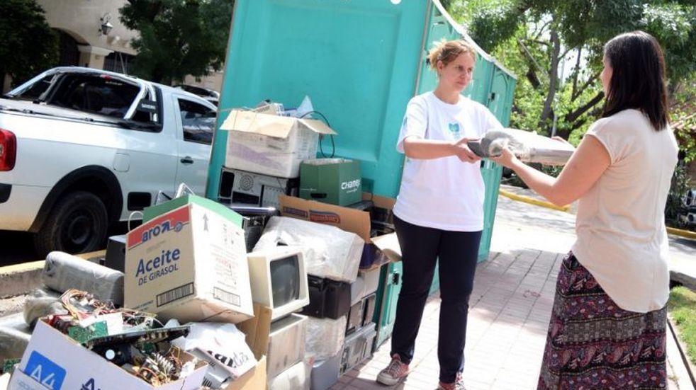 Residuos electrónicos: apoyan la decisión del Municipio para su tratamiento