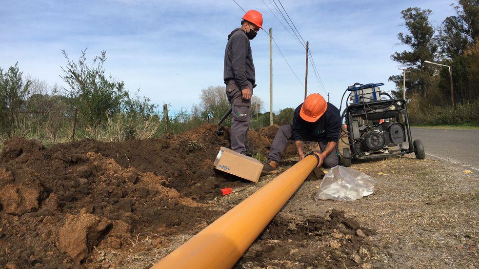 Obras en Tandil: realizan mejoras en Vela y Gardey