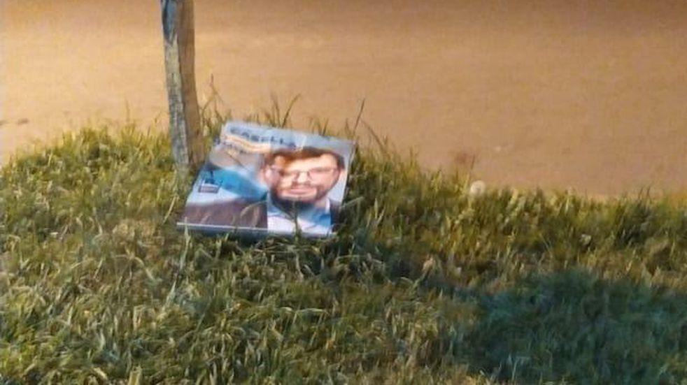 Denuncian ataque vandálico contra una lista del Frente Amplio por Pérez