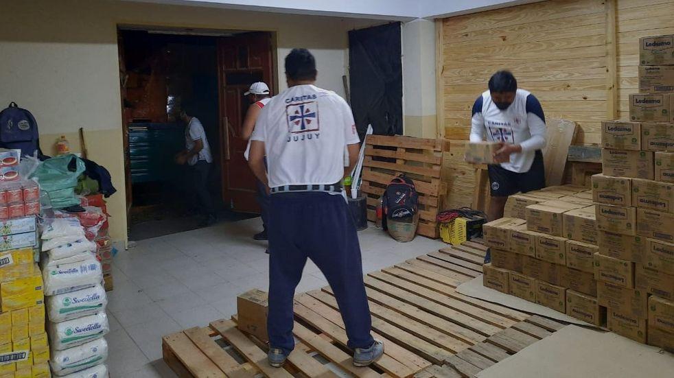 Cáritas Jujuy recibió una donación de 15 toneladas de azúcar