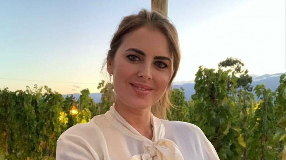Silvina Luna recordó con humor el video del viñedo