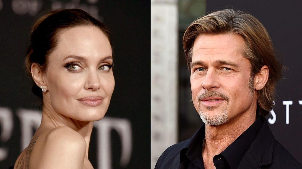 Angelina Jolie y Brad Pitt (AP/Archivo).