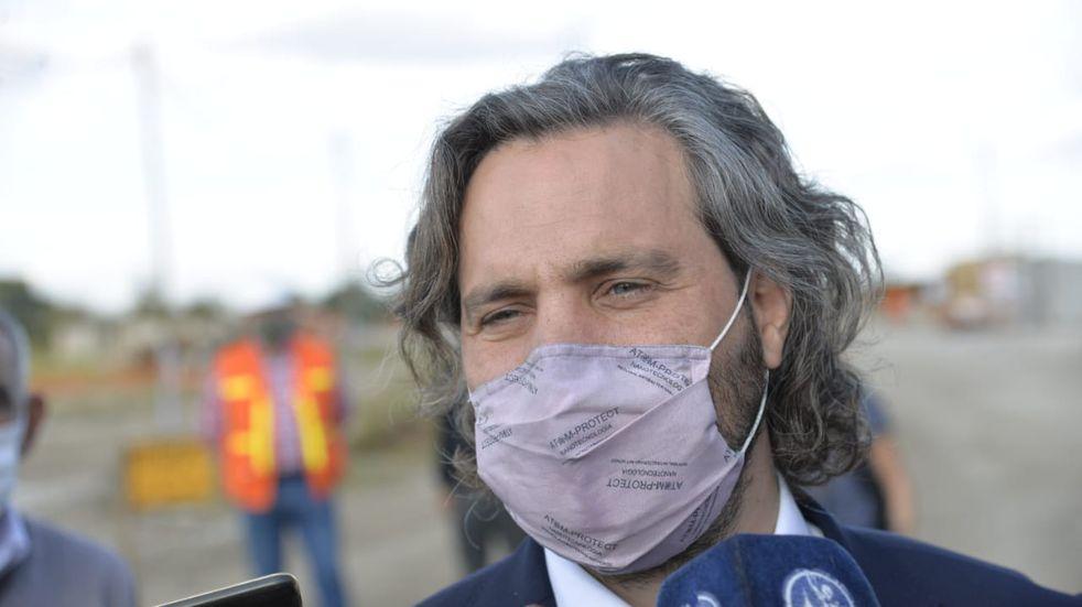 """Santiago Cafiero: """"Observo una conducción del gobernador que es intachable"""""""