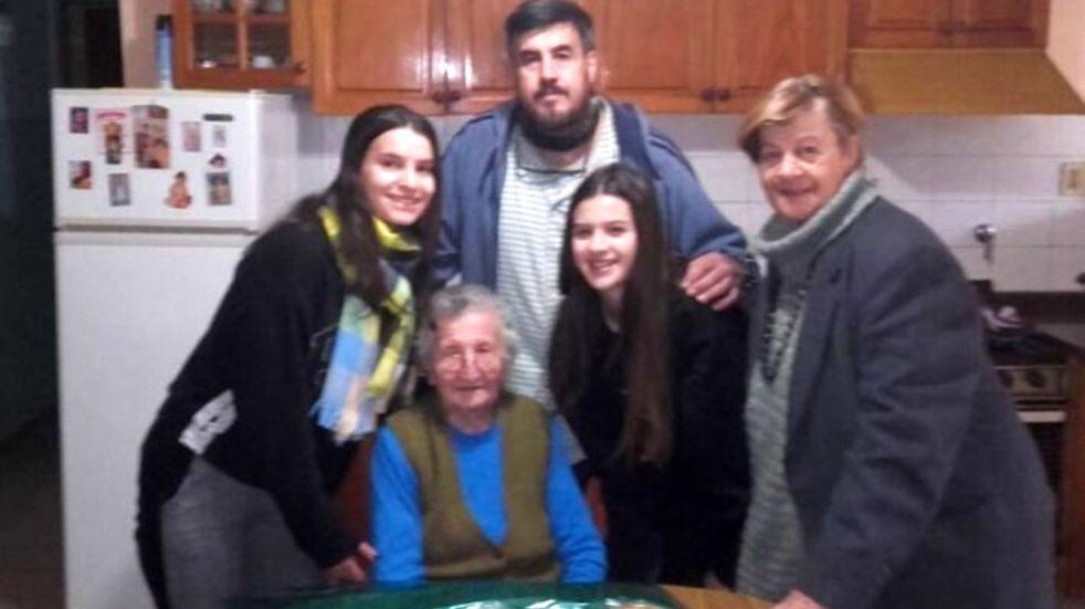 La cordobesa más longeva cumple 108 años