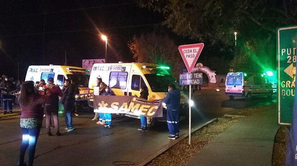 """Detención de agentes del SAMEC: """"Si hubo demoras es porque contamos con pocas ambulancias"""""""