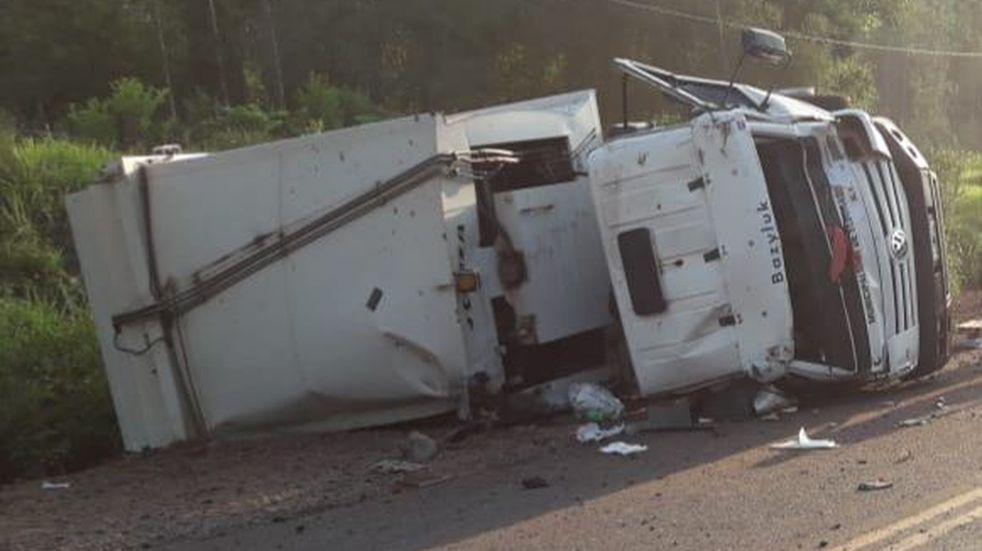Duelo y asueto en Eldorado por los dos municipales fallecidos en un accidente