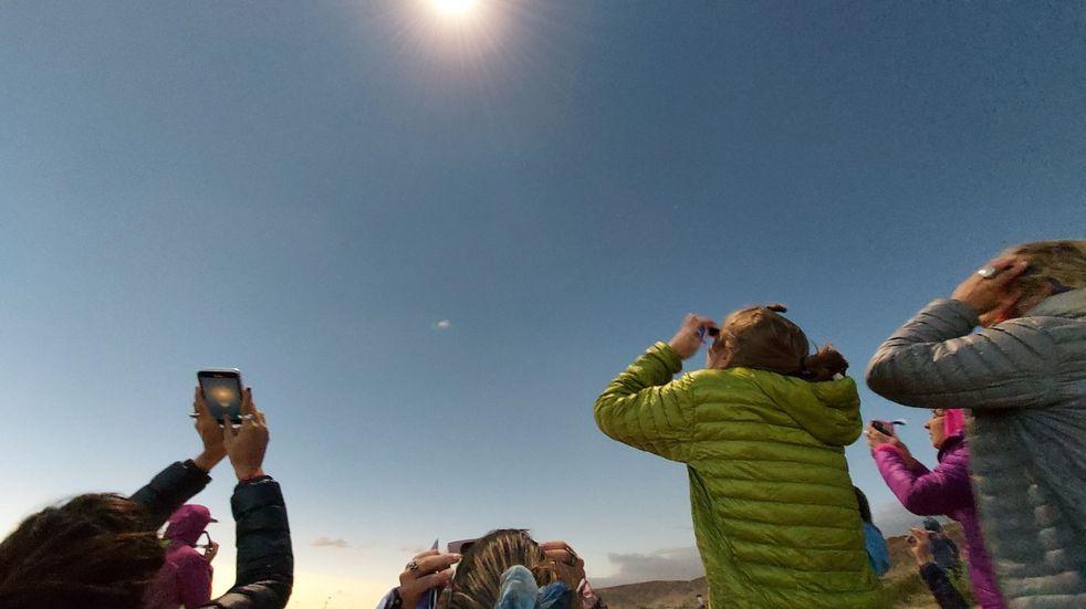Argentina se paralizó ante el eclipse total solar, que recién se repetirá en 2048