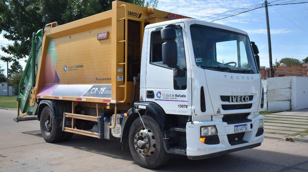 Continúa el servicio de recolección de residuos de patios