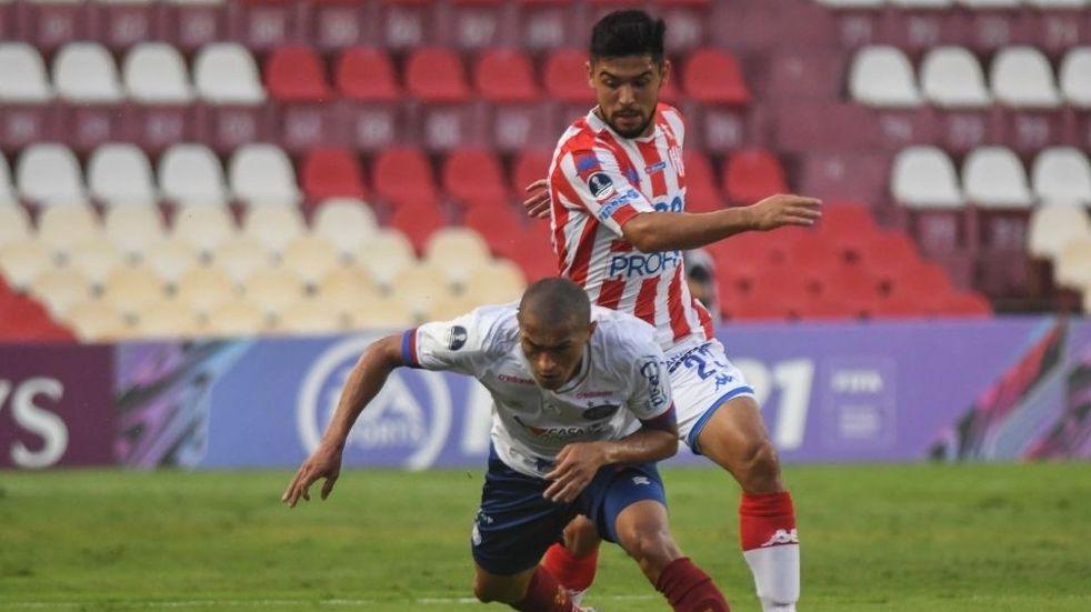 Unión empató sin goles ante Bahía y quedó eliminado de la Copa Sudamericana