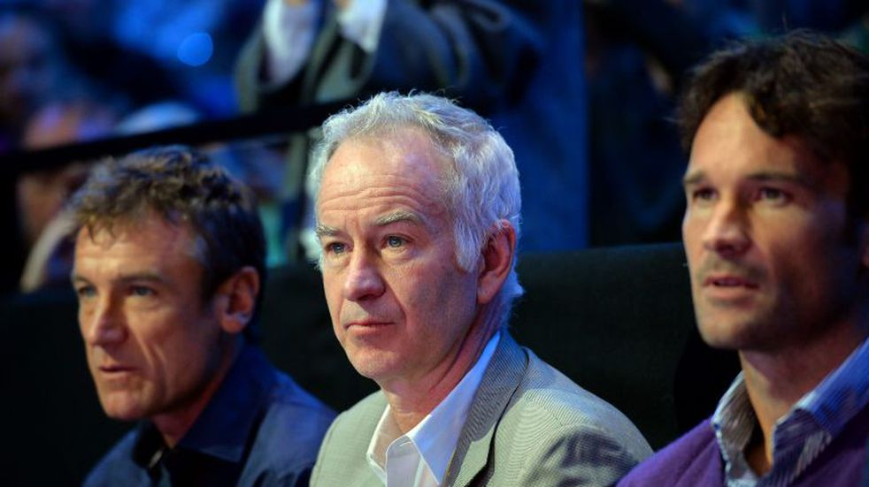 John McEnroe bancó al tenista santiagueño Marco Trungelliti