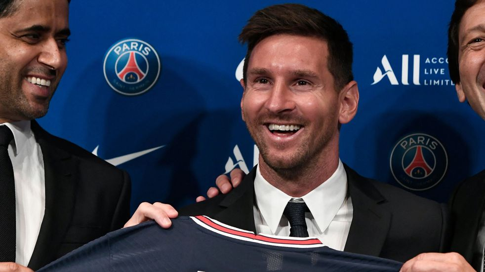 """Las primeras palabras de Messi como jugador del PSG: """"Estoy impaciente por comenzar"""""""