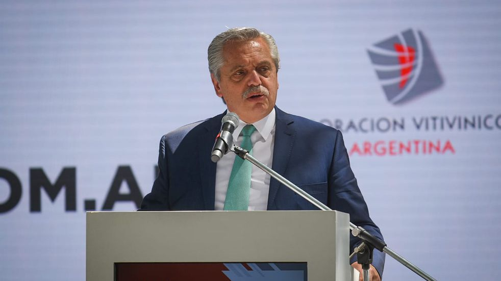 Alberto Fernández propuso llevar al Congreso y convertir en ley el plan estratégico de vitivinicultura