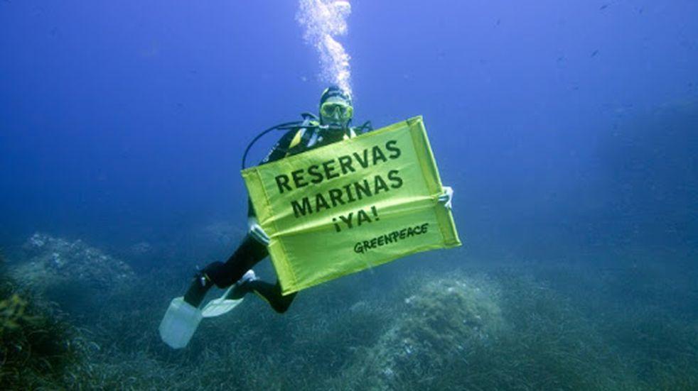 """Greenpeace informó que el frente del Mar Argentino está """"sitiado"""" por una flota de barcos extranjeros"""