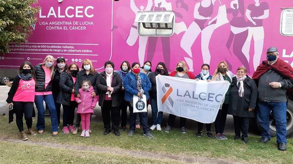 El mamógrafo móvil Avon-Lalcec realizó más de 160 mamografías en Zavalla (Comuna de Zavalla)