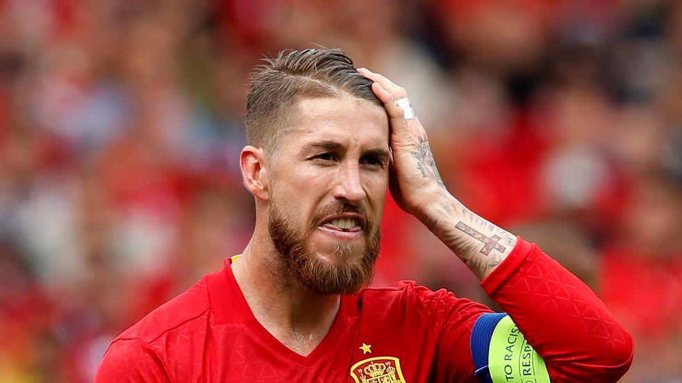 Sergio Ramos no jugará la Eurocopa.