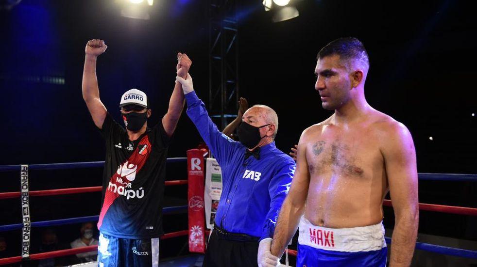 Boxeo: Diego Martínez es el nuevo campeón mendocino en superwelter