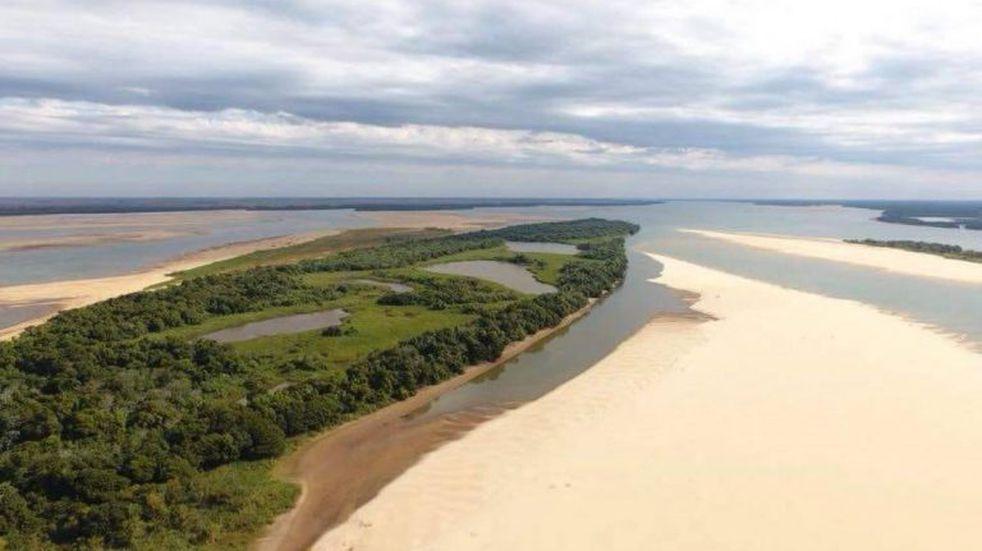 El Paraná alcanzó un nuevo mínimo histórico