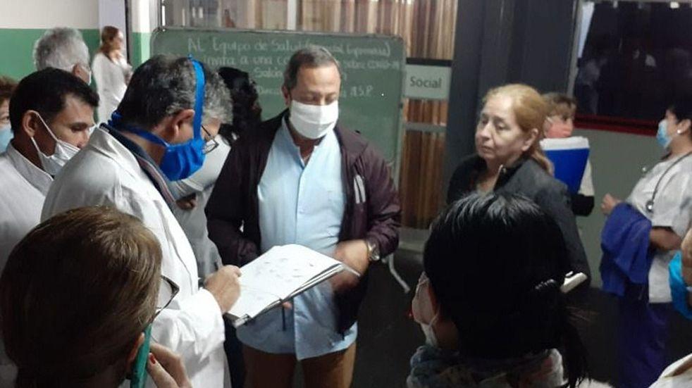 Médicos del hospital San Vicente de Paúl renunciaron a las horas de guardia de terapia intensiva