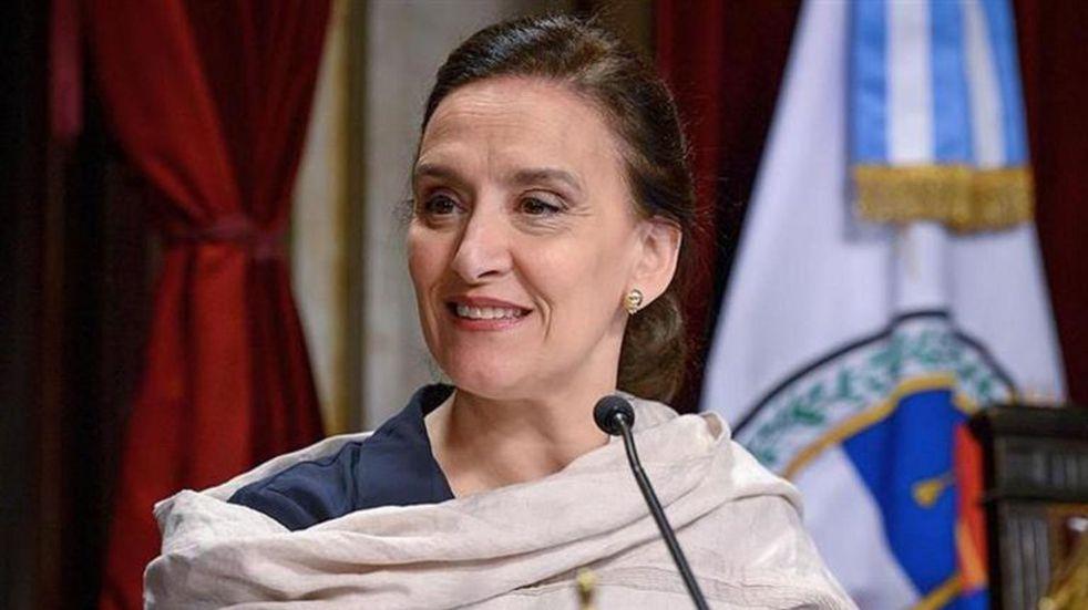 """Gabriela Michetti dijo que le """"gustaría seguir acompañando"""" a Macri como vicepresidenta"""