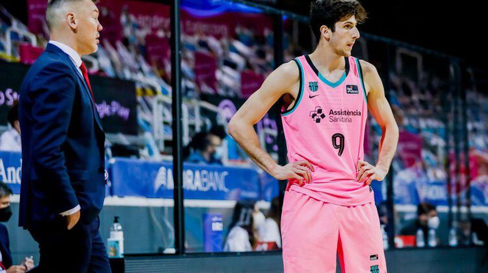 Bolmaro hizo un buen partido, pero fue derrota del Barcelona en la liga ACB